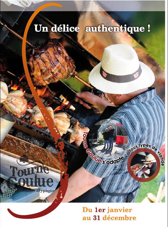 tourne goulue cochon grill mchoui mouton volaille poisson angers maine et loire - Cochon La Broche Mariage