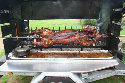 cochon grille - Cochon La Broche Mariage